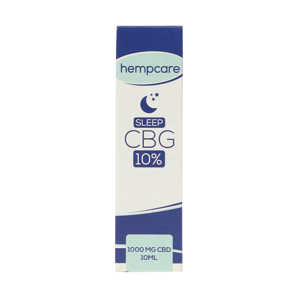 Hempcare 10% CBG oil for sleep (10 ml) Smartific.com 8718274713664