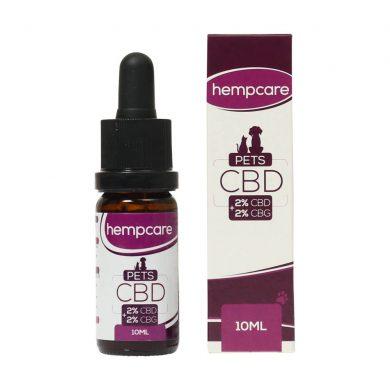 Hepcare 2% CBD oil for pets (10 ml) Smartific.com 8718274714364