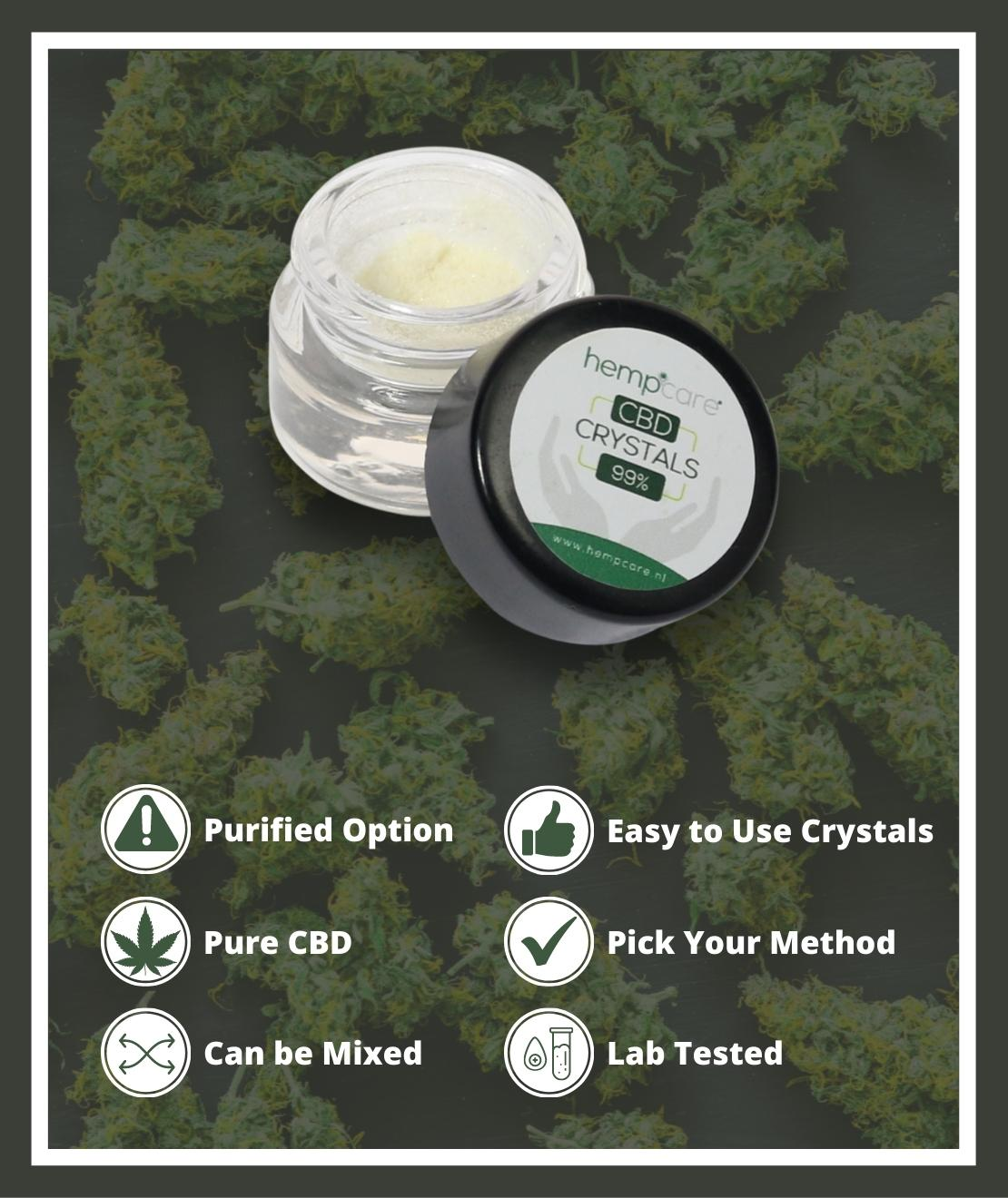 Hempcare Pure CBD Crystals