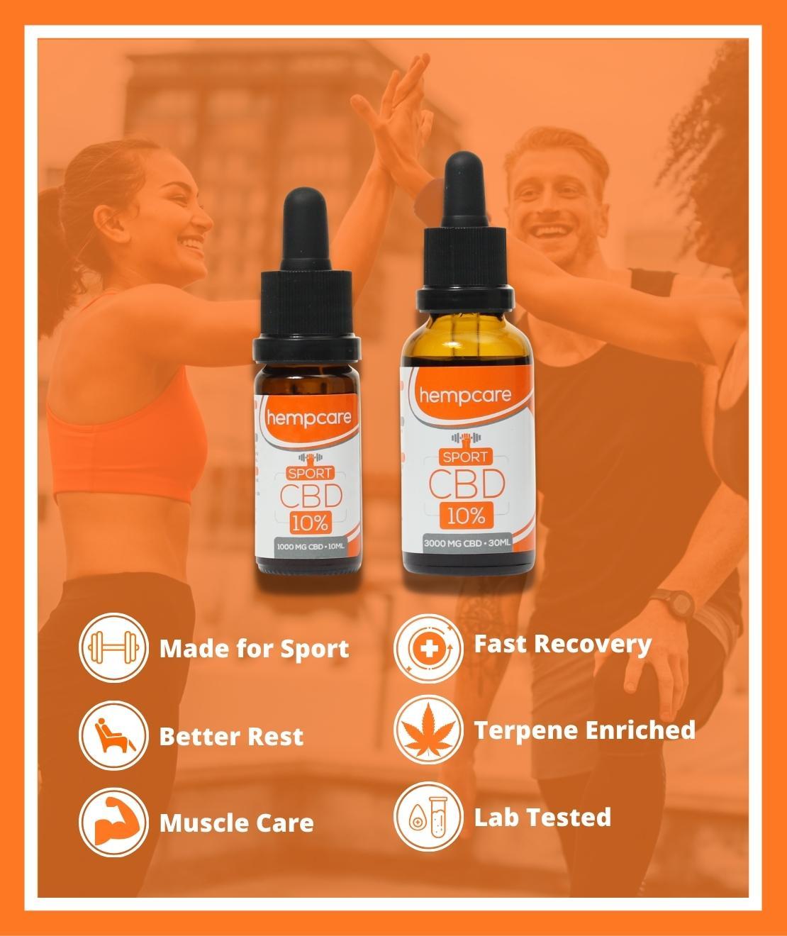 Hempcare Sport CBD Oil