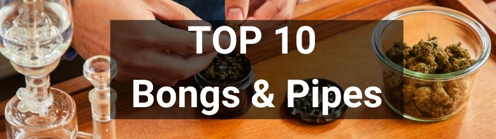 ✅ Top 10 Bongs & Pipes from Smartific.com